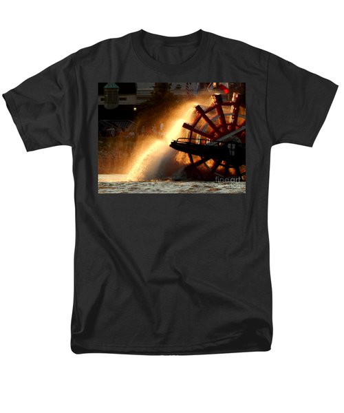 New Orleans Steamboat Natchez On The Mississippi River Men's T-Shirt  (Regular Fit) by Michael Hoard