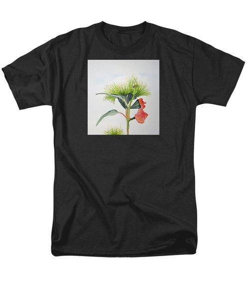 Flowering Gum Tree Men's T-Shirt  (Regular Fit) by Elvira Ingram