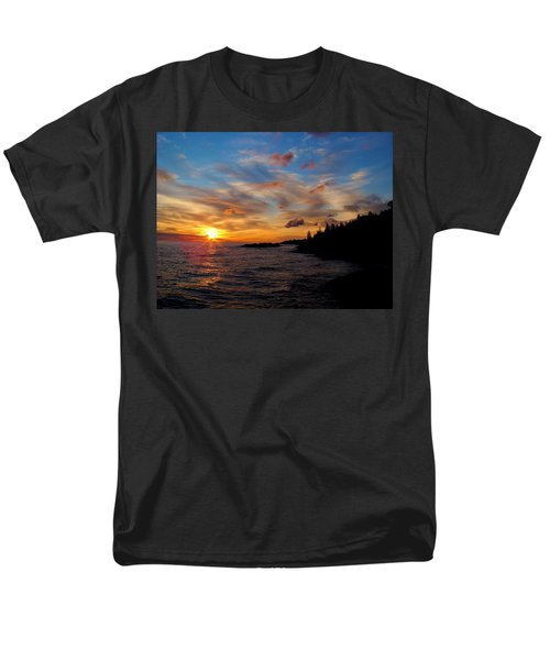 Men's T-Shirt  (Regular Fit) featuring the photograph God's Morning Painting by Bonfire Photography