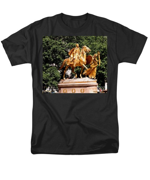Men's T-Shirt  (Regular Fit) featuring the photograph God's Protection by Luther Fine Art