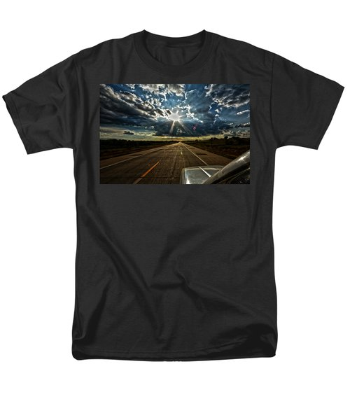 Men's T-Shirt  (Regular Fit) featuring the photograph Going Home by Brian Duram