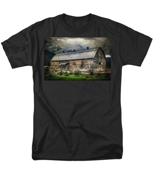 Golden Barn Men's T-Shirt  (Regular Fit) by Wayne Sherriff