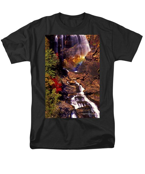 Golden Rainbow Men's T-Shirt  (Regular Fit) by Paul W Faust -  Impressions of Light