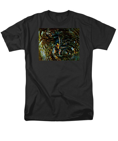 Golden Ripples Men's T-Shirt  (Regular Fit) by Lehua Pekelo-Stearns