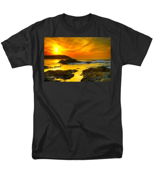 Golden Sky Men's T-Shirt  (Regular Fit) by Bruce Nutting