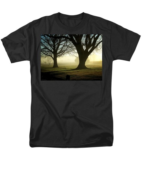 Men's T-Shirt  (Regular Fit) featuring the photograph Golden Sunrise by Greg Simmons