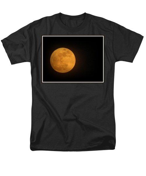 Golden Super Moon Men's T-Shirt  (Regular Fit) by Kathy Barney