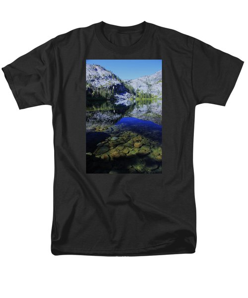 Men's T-Shirt  (Regular Fit) featuring the photograph Good Morning Eagle Lake by Sean Sarsfield