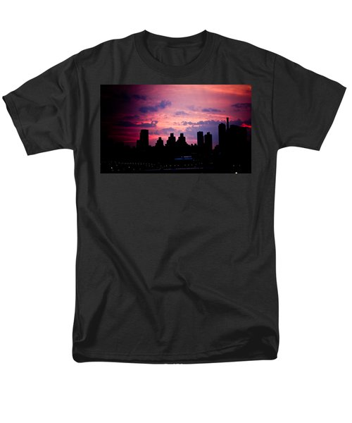 Men's T-Shirt  (Regular Fit) featuring the photograph Good Morning New York by Sara Frank