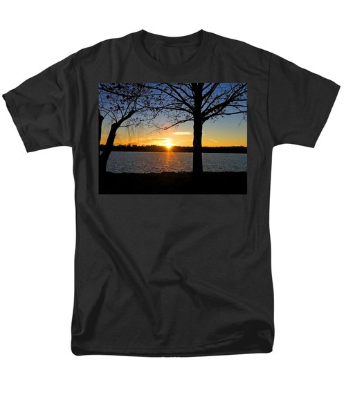 Good Night Potomac River Men's T-Shirt  (Regular Fit) by Emmy Marie Vickers