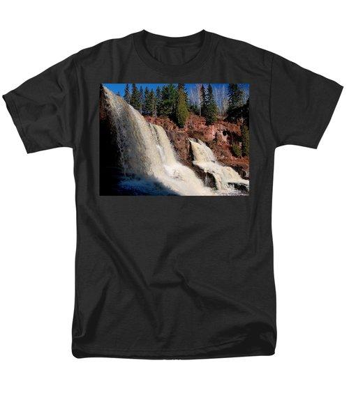 Gooseberry Falls Men's T-Shirt  (Regular Fit) by James Peterson