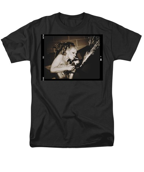 Men's T-Shirt  (Regular Fit) featuring the photograph Got A Light by Alice Gipson