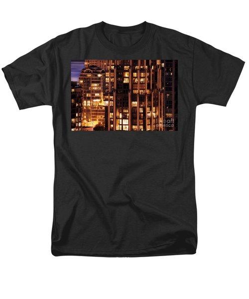 Men's T-Shirt  (Regular Fit) featuring the photograph Gothic Living - Yaletown Ccclxxx by Amyn Nasser