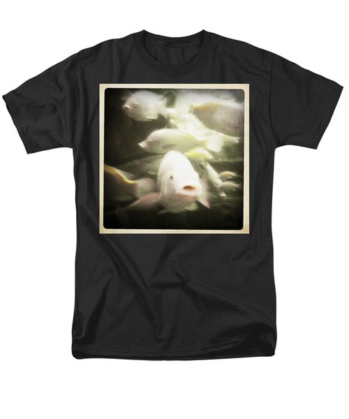 Men's T-Shirt  (Regular Fit) featuring the photograph Gouramis by Bradley R Youngberg