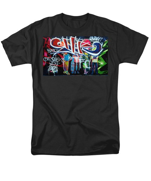 Graffiti Art Men's T-Shirt  (Regular Fit) by David Pantuso