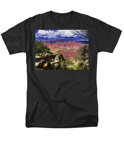 Grand Canyon Men's T-Shirt  (Regular Fit) by Craig T Burgwardt