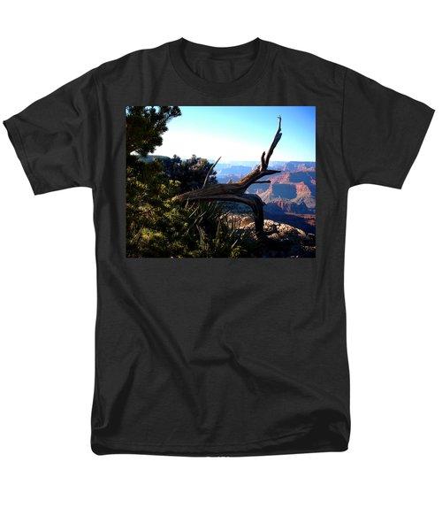 Grand Canyon Dead Tree Men's T-Shirt  (Regular Fit) by Matt Harang
