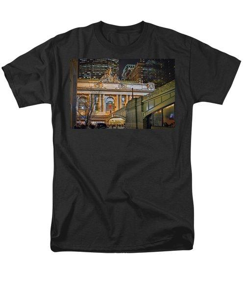 Grand Central Nocturnal Men's T-Shirt  (Regular Fit) by Jeffrey Friedkin
