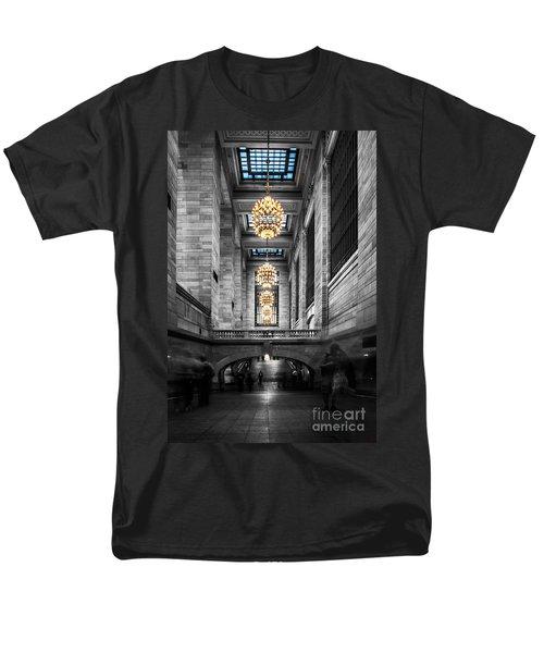 Grand Central Station IIi Ck Men's T-Shirt  (Regular Fit) by Hannes Cmarits