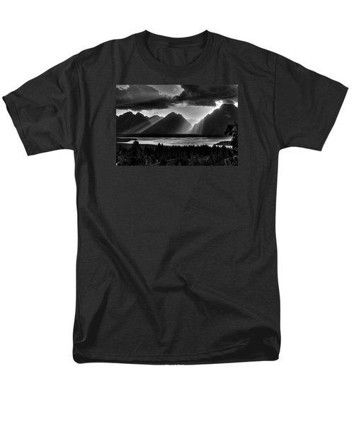 Grand Teton Light Beams Men's T-Shirt  (Regular Fit)