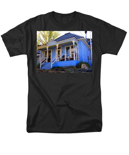 Men's T-Shirt  (Regular Fit) featuring the photograph Grandma's House by Jackie Carpenter