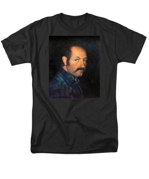 Men's T-Shirt  (Regular Fit) featuring the painting Grant by Donna Tucker