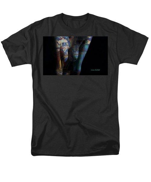 Graphic Artist Men's T-Shirt  (Regular Fit) by Donna Blackhall
