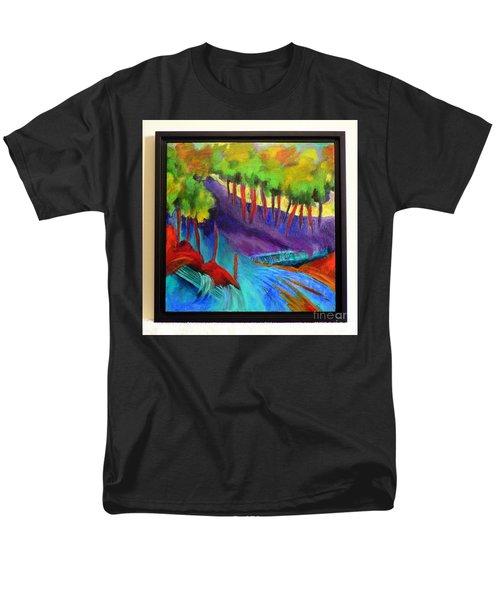 Grate Mountain Men's T-Shirt  (Regular Fit) by Elizabeth Fontaine-Barr