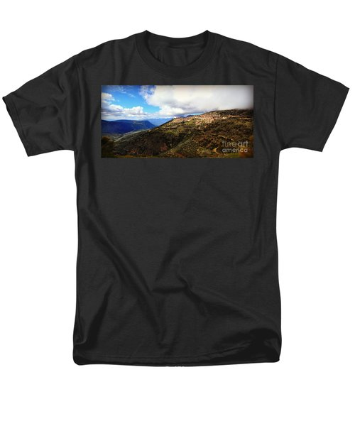 Greece Countryside Men's T-Shirt  (Regular Fit) by Eric Liller