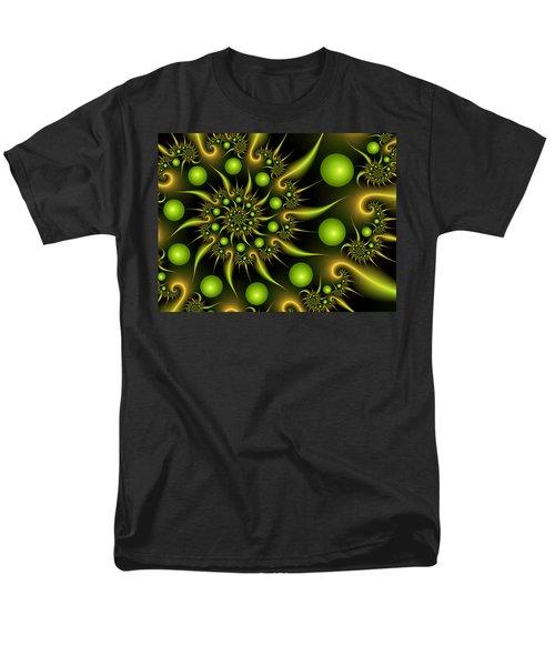Men's T-Shirt  (Regular Fit) featuring the digital art Green And Gold by Gabiw Art