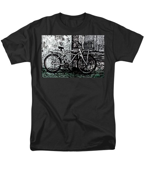 Men's T-Shirt  (Regular Fit) featuring the painting Green Park Way by Ecinja Art Works