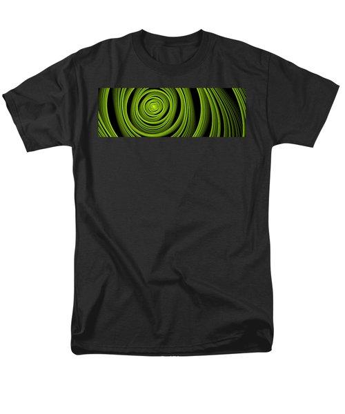 Men's T-Shirt  (Regular Fit) featuring the digital art Green Wellness by Gabiw Art