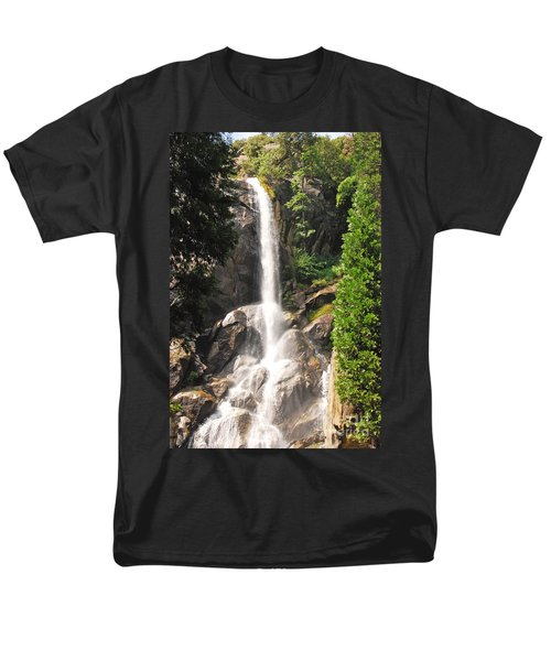 Men's T-Shirt  (Regular Fit) featuring the photograph Grizzly Falls by Mary Carol Story