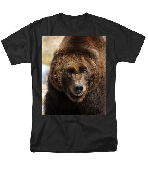Men's T-Shirt  (Regular Fit) featuring the photograph Grizzly by Steve McKinzie
