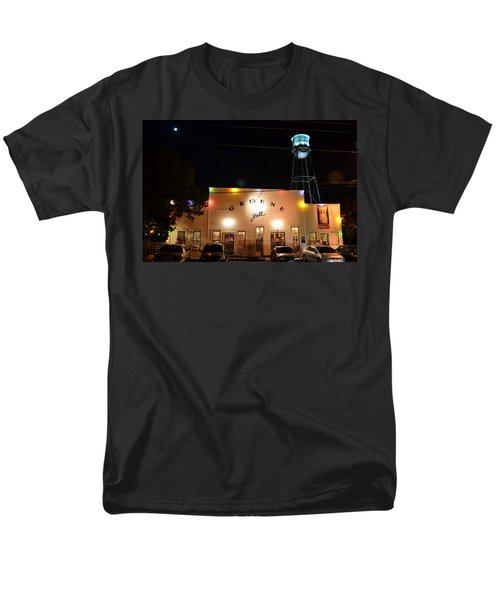 Gruene Hall Men's T-Shirt  (Regular Fit) by David Morefield