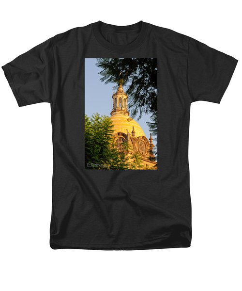 Men's T-Shirt  (Regular Fit) featuring the photograph The Grand Cathedral Of Guadalajara, Mexico - By Travel Photographer David Perry Lawrence by David Perry Lawrence