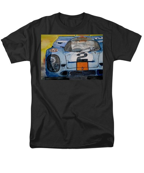 Gulf Porsche Men's T-Shirt  (Regular Fit)