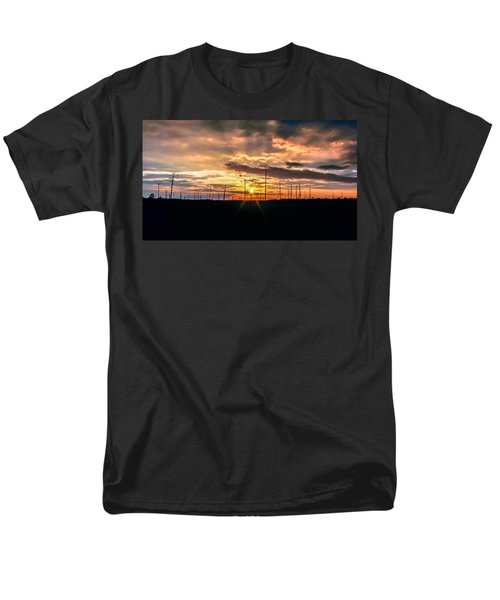 Gulf Shore Sunset Men's T-Shirt  (Regular Fit) by Rob Sellers