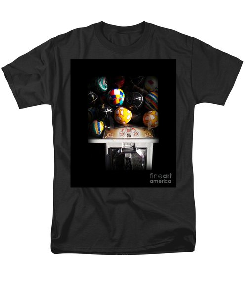 Series - Gumball Memories 1 - Iconic New York City Men's T-Shirt  (Regular Fit) by Miriam Danar