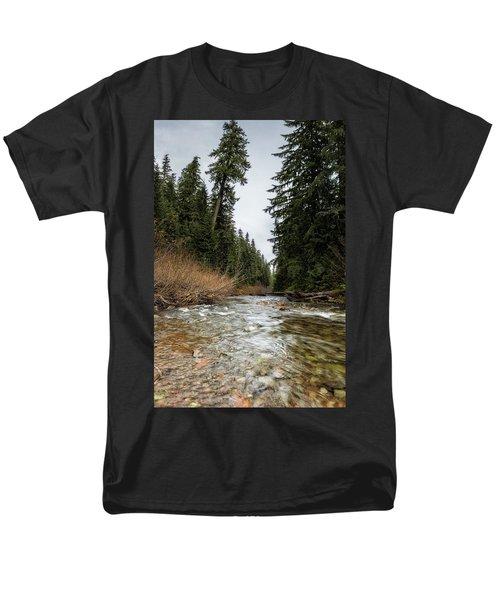 Hackleman Creek  Men's T-Shirt  (Regular Fit) by Belinda Greb