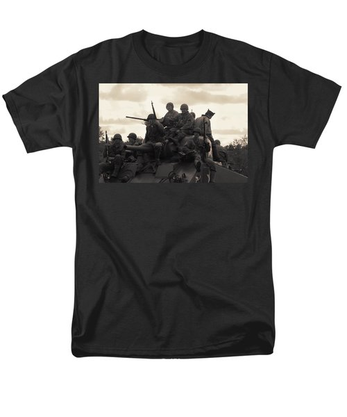 Hail To The Victors Men's T-Shirt  (Regular Fit) by Lyle Hatch