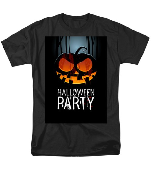 Men's T-Shirt  (Regular Fit) featuring the painting Halloween Party by Gianfranco Weiss