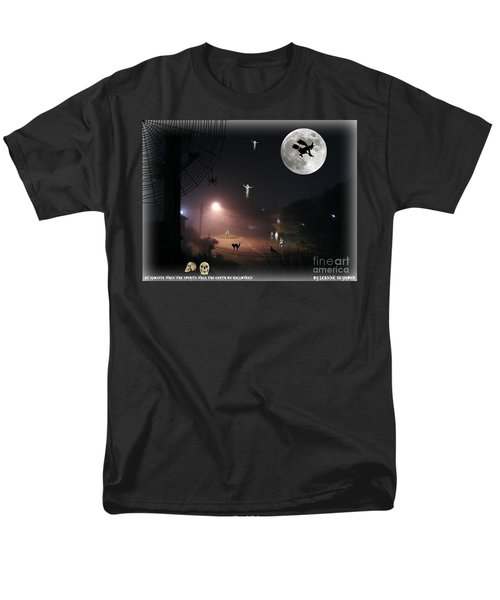 Men's T-Shirt  (Regular Fit) featuring the photograph Halloween Spooks by Leanne Seymour