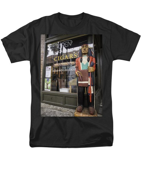 Hand Rolled Cigars Men's T-Shirt  (Regular Fit) by Fran Gallogly