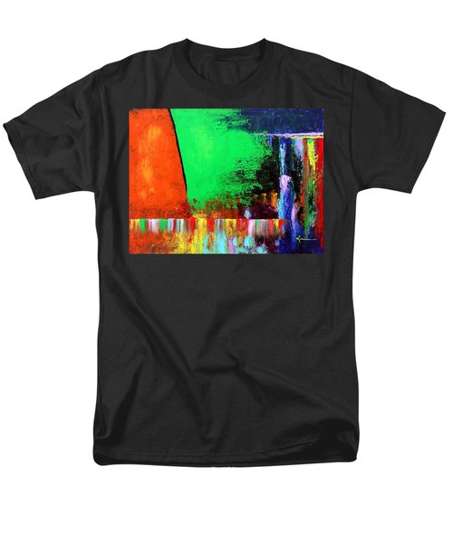 Men's T-Shirt  (Regular Fit) featuring the painting Happiness by Kume Bryant