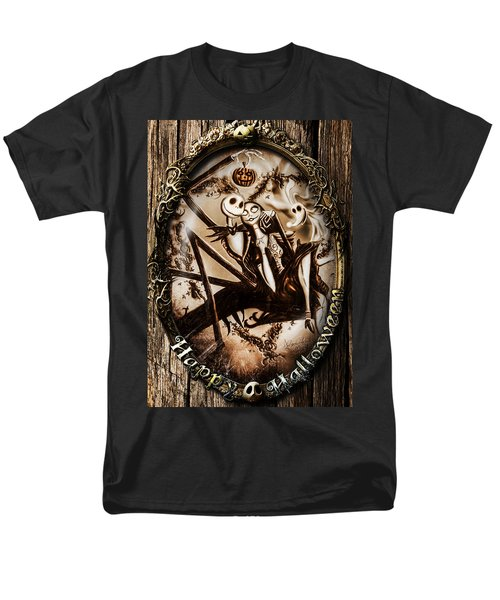 Happy Halloween IIi Sepia Version Men's T-Shirt  (Regular Fit)