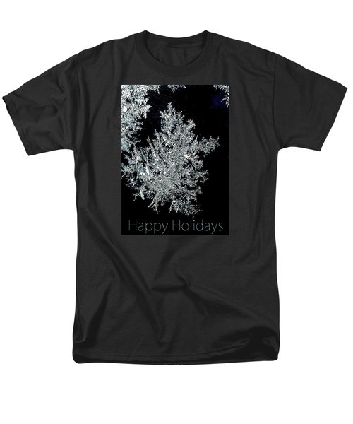 Men's T-Shirt  (Regular Fit) featuring the photograph Happy Holidays by Jodie Marie Anne Richardson Traugott          aka jm-ART