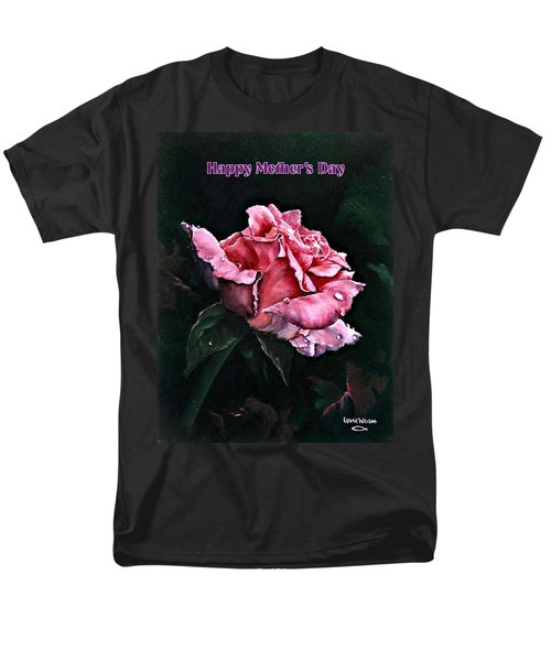 Men's T-Shirt  (Regular Fit) featuring the painting Happy Mother's Day by Lynne Wright