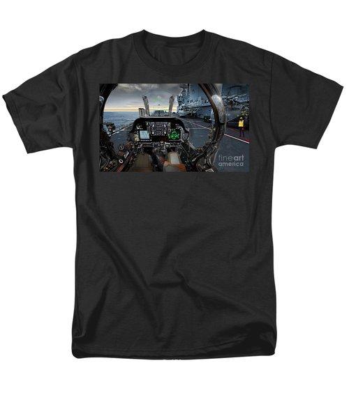 Harrier Cockpit Men's T-Shirt  (Regular Fit) by Paul Fearn
