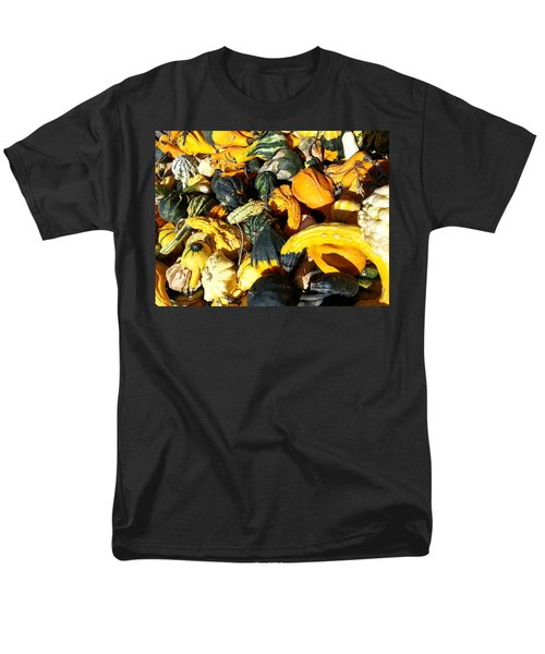 Men's T-Shirt  (Regular Fit) featuring the photograph Harvest Squash by Caryl J Bohn